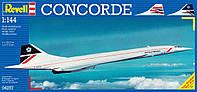 Самолет (1969г., Великобритания/ Франция) Concorde British Airways, 1:144, Revell