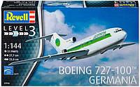 Самолет Boeing 727-100 GERMANIA, 1:144, Revell