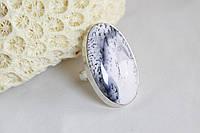 Серебряное кольцо с дендроопалом 17,75 р