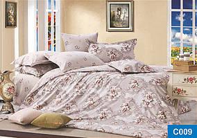 """Постільна білизна Сатин"""" Leleka Textile євро 2155_c009"""