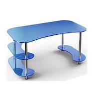 Офисный стеклянный стол  С3