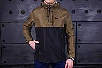 Мужская Куртка анорак найк (Nike), хаки