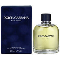 Туалетна вода Dolce & Gabbana Pour Homme EDT 200 ml