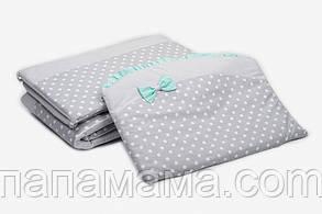 Защита Twins Premium Glamur для детской кроватки