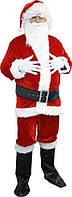 Weihnachtsmannkostüm aus Velour- новогодний костюм