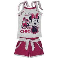 Комплект майка+шорты для девочки р.92-110см