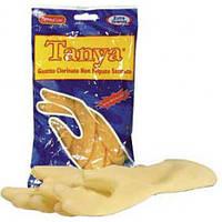 Перчатки латексные хозяйственные хлорированные,сатиновые (2шт) SKIN TANYA (SKIN TANYA-L(8/8.5) x 1549)