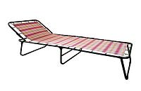 """Кровать раскладная жесткая """"Надин"""", 1965*763*330 мм, матрас текстилен"""