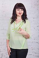 Легкая весенняя блузка от производителя AMAZONKA - (код бл-69), фото 1