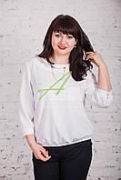 Модная блузка с цепочкой от AMAZONKA - (код бл-75), фото 1