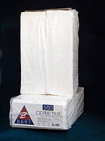 Салфетки Z-ВЕST 25*23см 500шт  барные белые 0126042 (0126042 x 37627)