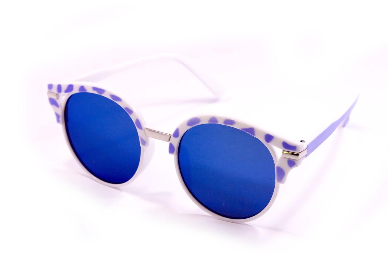 Солнцезащитные круглые очки (15921-4)