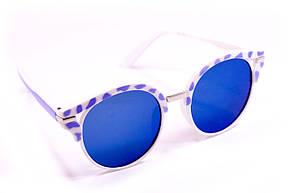 Солнцезащитные круглые очки (15921-4), фото 2