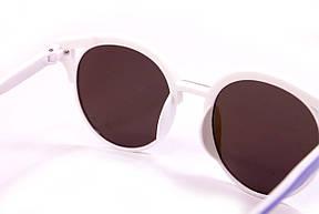 Солнцезащитные круглые очки (15921-4), фото 3