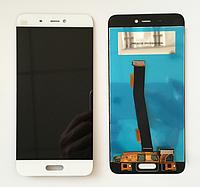 Оригинальный дисплей (модуль) + тачскрин (сенсор) для Xiaomi Mi5 | Mi5 Pro (белый цвет)