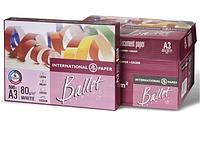 Бумага офисная BALLET PREMIER  А3, Класс А  80г/м2. 500л Ballet  BT.A3.80.PR (BT.A3.80.PR x 99119)