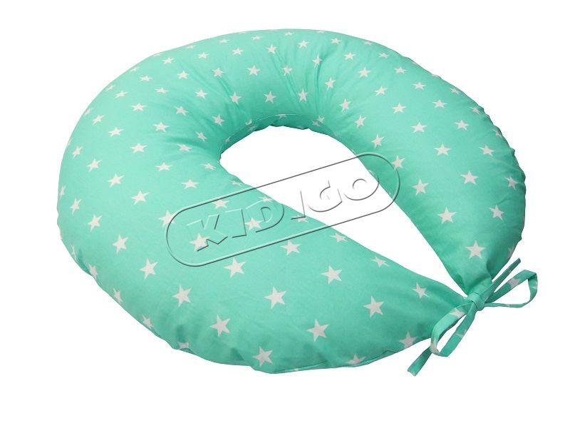 Подушка для кормления и беременности (с наволочкой) KIDIGO Звезды