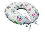 Подушка для кормления и беременности (с наволочкой) KIDIGO Звезды, фото 4