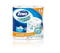 Полотенца бумажные Полотенце бумажное ZEWA Wisch Weg 2-х слойное (26-24см) 2рул. белые, 0129315 (0129315 x 47797)