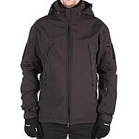 Куртка тактическая Черная Gore-tex Hardshell