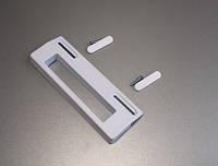 Ручка двери холодильника (универсальная) крепление 85-160мм для холодильника