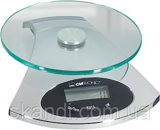 Весы кухонные Clatronic KW 2943 стекляные Германия