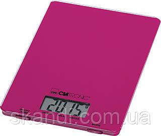 Кухонные электронные весы  Сlatronic KW 3626 фиолетовые