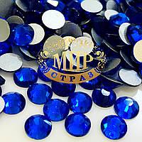 Стразы DMC Premium Caprie Blue ss16(4мм). 100шт.