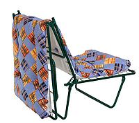 """Металлическая раскладная кровать-кресло """"Лира"""" , матрас 60 мм"""