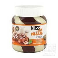 Шоколадно-сливочная паста со вкусом фундука Nuss Milk Krem 400g, фото 1