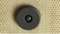 Клипса-фиксатор ремня безопасности. Серый