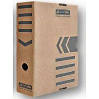 Архивный бокс Бокс для архивации документов 80мм, JOBMAX,Buromax BM.3260-34 крафт (BM.3260-34(крафт) x 96865)