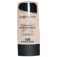 Тональный крем Max Factor Lasting Performance 106, натуральный бежевый
