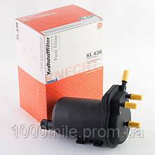 Топливный фильтр на Renault Kangoo 2001->2008, 1.5dCi, Knecht  —  KL430
