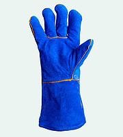 Перчатки Рукавицы (Краги) 4508 сварочные с подкладкой, синие, р10, 0145718 (0145718 x 96625)