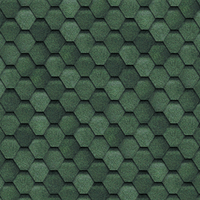 Финская черепица зеленого цвета.