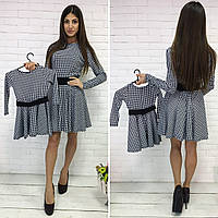 Платье французский трикотаж