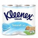 Туалетная бумага Kleenex 3слоя 4рул. премиум натурал целюл.  белый  Венгрия 0130660 (0130660 x 94933)