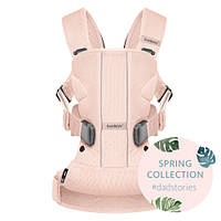 Эргономичный Рюкзак-кенгуру BabyBjorn ONE Air, цвет Powder pink