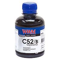 Чернила WWM для Canon CL-52P 200г Black Водорастворимые (C52/B)