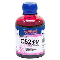Чернила WWM для Canon CL-52P/CLI-8PM 200г Photo Magenta Водорастворимые (C52/PM)