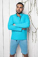Рубашка мужская голубая ВВ/-28