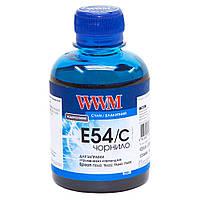 Чернила WWM для Epson Stylus Pro 7600/9600 200г Cyan Водорастворимые (E54/C)