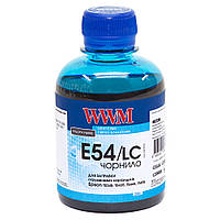 Чернила WWM для Epson Stylus Pro 7600/9600 200г Light Cyan Водорастворимые (E54/LC)