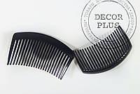 Гребешок для волос 8,5*4см черный