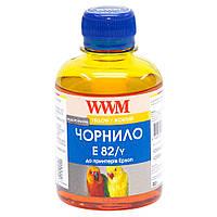 Чернила WWM для Epson Stylus Photo T50/P50/PX660 200г Yellow Водорастворимые (E82/Y)