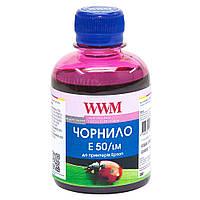 Чернила WWM для Epson Stylus Photo R200/R340/RX620 200г Light Magenta Водорастворимые (E50/LM)