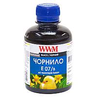 Чернила WWM для Epson Stylus C42/C48/C62 200г Black Водорастворимые (E07/B)