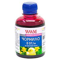 Чернила WWM для Epson Stylus C42/C48/C62 200г Magenta Водорастворимые (E07/M)