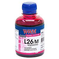Чернила WWM для Lexmark №26/27 200г Magenta Водорастворимые (L26/M)